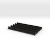 HO Scale Waiting Room Bench Quantity 20 3d printed