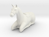 laying horse 3d printed