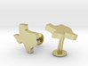 Texas State Cufflinks 3d printed