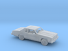 1/87 1977-79 Oldsmobile Delta 88 Coupe Kit 3d printed
