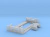 RAR lord Raglan loco frame 3d printed