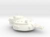 28mm Rauber tank turret - flamethrower 3d printed
