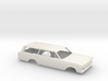 1/16 1966 Ford Station Wagon Shell 3d printed