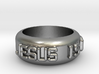 Jesus is Lord Ring 3d printed