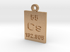 Cs Periodic Pendant 3d printed