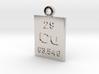 Cu Periodic Pendant 3d printed