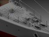 P boat Fore deck equipment set 1/48 3d printed