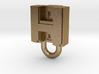 Puma Punku H-block Pendant 1,5cm 3d printed