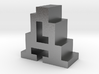"""A"" inch size NES style pixel art font block 3d printed"