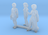 1-72 Scale Women Robbers 3d printed This is a render not a picture