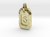 Old Gold Nugget Pendant S 3d printed