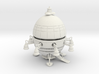 Medium ET Type Ship Kit With Upper and Lower 3d printed Shapeways Rendering