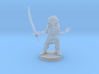 Goblin Female Warlock of Nature 3d printed