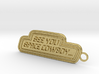 Space Cowboy Keychain 3d printed