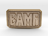 BAMF Buckle 3d printed