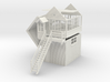 HG71 Hassall Green signal box 3d printed original render
