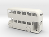 S Scale Double Decker Bus 3d printed This is a render not a picture