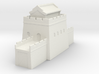 the great wall of china 1/600 tower l roof  3d printed