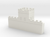 Hadrian's  wall 1/600 turret  3d printed