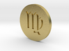 Virgo Coin 3d printed