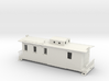 HO Scale Caboose with Interior 3d printed This is a render not a picture