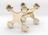 Fidget Spinner Cufflink 3d printed