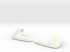 Porsche sunvisor clips -65 -66 -67 round axel 3d printed
