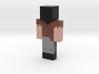 Notch | Minecraft toy 3d printed