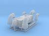 1:8 BTTF DeLorean interior bulkhead set 3d printed