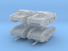 Semovente M42 75/34 (4 pieces) 1/285 3d printed