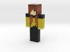 althegirl | Minecraft toy 3d printed