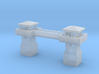 Guardhouses with a walkway 3d printed