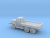 1/200 M35 2.5 ton Cargo Truck Open Bed 3d printed