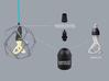 Organika lampshade (E27) 3d printed