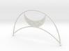 Art Deco Moon Headpiece 3d printed