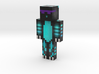 char | Minecraft toy 3d printed