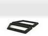 Traxxas Tactical unit Front window guard pair 3d printed