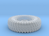 Humber Armored Car Tire 1:24 Scale 3d printed