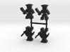 Pirate Skeleton Meeple, 4-set 3d printed