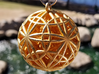 """Sphere of Sacred Union Pendant 2""""  3d printed"""
