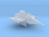 Blake's 7 Federation Pursuit Ship Starburst-class 3d printed