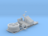 1/72 Twin 20mm Oerlikon MKV Mount Not in Use 3d printed 1/72 Twin 20mm Oerlikon MKV Mount Not in Use