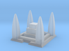 Shrine / Temple 2mm/3mm Game Scale 3d printed