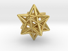 Small Stellated Dodecahedron Pendant 3d printed