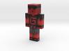 JxLeSlimeRouge | Minecraft toy 3d printed