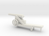 1/48 Scale Civil War 32-pounder M1845 Seacoast Gun 3d printed