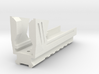Blasterdizer Bottom Picatinny Rail for Stryfe 3d printed