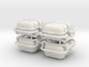 4X Offshore commander Life raft container 8 pers - 3d printed