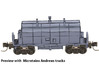 1967 NSC 35' Ore Hopper ONT in N Scale 3d printed Preview With Trucks