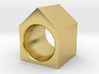 House Ring 3d printed
